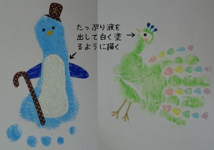 動物手形足形 装飾ポイント3