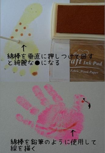 動物手形足形 装飾ポイント2