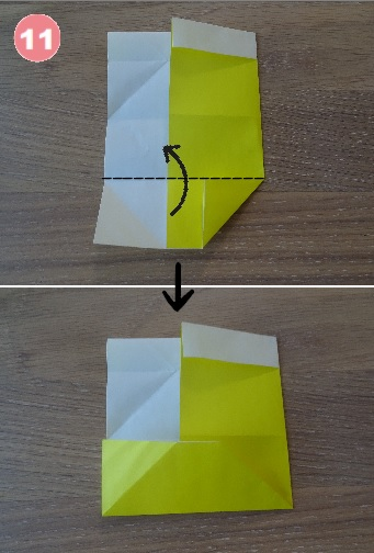 ビールの折り方 手順11