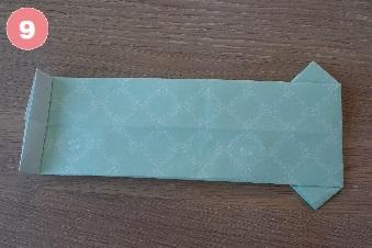 Yシャツの折り方 手順9