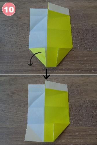 ビールの折り方 手順10