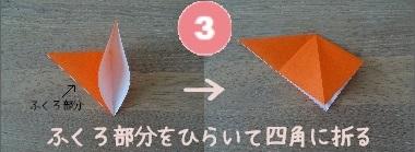 かぼちゃおばけ 作り方3